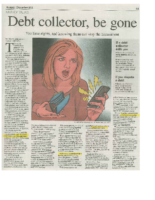 Debt Collector, be gone (Boomer, December 2011)