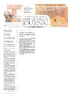Speedy Loan to Refund Millions (Albuquerque Journal, December 5, 2017)