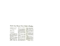 Suits Say Repo Man Had a Badge (Albuquerque Journal, November 28, 2006) – Copy (2)