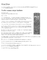 Trailer Scams Target Indians (Chicago Tribune, March 14, 2004)