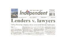 Lenders v. Lawyers (Gallup Independent, February 20-21, 2016)
